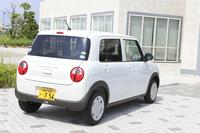 「アルト」ゆずりの軽量な車重が特徴の新型「アルトラパン」。エントリーグレードの「G」では、車重は650kgに抑えられている。