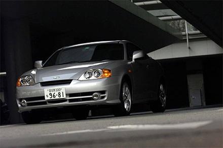ヒュンダイ・クーペFX V6(6MT)【試乗記】