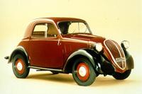 ジアコーザの名作のひとつ「フィアット・トポリーノ」。(photo=FIAT)