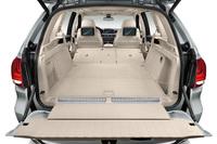 荷室のフロア高は、標準的なガソリン車の「X5」に比べて2~3cm高くなっている。積載容量は500~1720リッター。