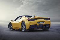 オープンモデル「458スペチアーレA」の乾燥重量は、クーペ「458スペチアーレ」比50kg増しの1340kg。