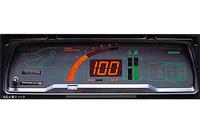 コルディアの最上級車種である1600GSR-Sターボに標準装備されていた、世界初という液晶式デジタルメーター。