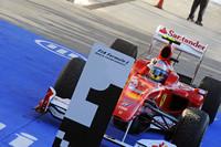 幸先の良いスタートを切ったフェラーリだったが、予選後、マッサのエンジンに異常が見つかったことで、アロンソ(写真)を含め2台ともエンジンを交換していた。なお1シーズン8基のエンジンで戦う規定は今年も継続。(写真=Ferrari)