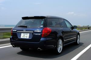 スバル・レガシィツーリングワゴン 2.0GT spec.B(5MT)【ブリーフテスト】