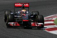 レース前、「レッドブルにはかなわない」と公言していたハミルトン。予選では3位、決勝では終盤にベッテルと僅差の優勝争いを繰り広げ、最後までレッドブルを苦しめた。(Photo=McLaren)