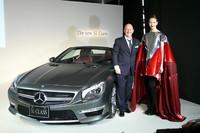 メルセデス・ベンツ、新型「SLクラス」を発売
