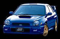 WRCをイメージした「スバルインプレッサ」発売の画像