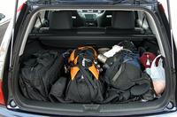 登山するもの、クルマはワゴンに限る。ザックや道具もこのとおり。