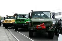 ダイムラー、「ウニモグ」など車両50台を寄付の画像