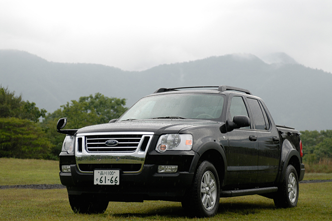 フォード・エクスプローラー・スポーツトラック XLT(4WD/5AT)【試乗記】