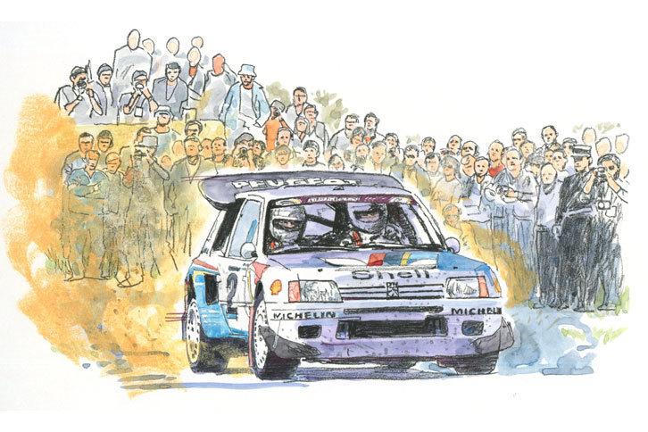 第8回:WRC――グループBの挑発<1983年>ひたすら速さを求め続けた狂乱の時代