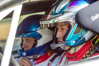 全日本ラリー選手権にもmCrtから参戦している眞貝知志選手。ダニーロ・ファパーニ選手とコンビを組むのはこれが初で、ラリー前に事前テストを敢行してコンビネーションを確かめていた。