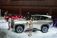 一般公開日、三菱自動車のショータイム。