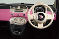 「フィアット500」に鮮やかなピンクの限定車