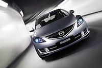 写真は新型「Mazda6」(欧州仕様)。