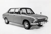 1966年に誕生した、スバル初の小型車である「スバル1000」。水冷フラット4による前輪駆動を採用していた。