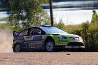 今回から投入されたフォードの新型マシン「フォーカスRS WRC07」。昨年より細部の煮詰めを行っただけとはいえ、他を圧倒するパフォーマンスを見せた。
