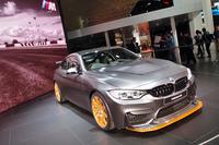 東京モーターショー2015で世界初公開された限定モデル「BMW M4 GTS」。