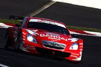 GT500クラス優勝のNo.35 BANDAI DIREZZA SC430。