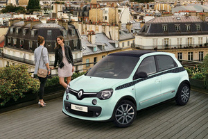 イメージはパリジェンヌ、「ルノー・トゥインゴ」の限定車発売