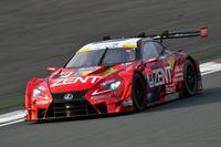 ポールポジションからのスタートでレースを制した、立川祐路/石浦宏明組のNo.38 ZENT CERUMO LC500。