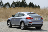 BMWアクティブハイブリッドX6(4WD/7AT)【短評】