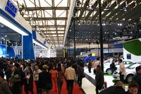 上海ショー2013の会期は4月20日から4月29日まで。一般公開日は4月23日から29日までの7日間。プレスデイは4月20のみ。