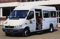 メルセデスベンツ、幼稚園バスを発売の画像