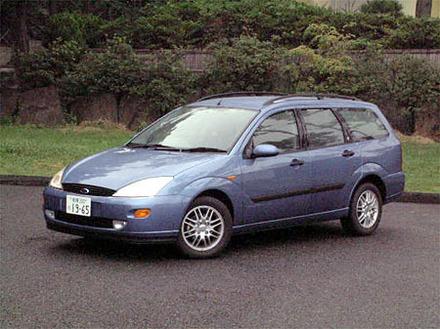 フォード・フォーカス2000GHIAステーションワゴン(4AT)【ブリーフテスト】