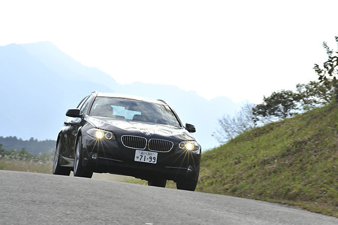 BMW523iツーリング(FR/8AT)【ブリーフテスト】