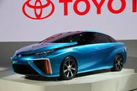 次世代燃料電池車「FCVコンセプト」。