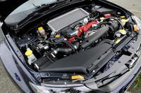 ATモデル「A-Line」の2.5リッターエンジン。数値はMTモデルに一歩ゆずるものの、300psと35.7kgmを発生する。