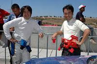 過酷なコンディションに、PCWRCで戦う日本人ドライバーも苦戦。奴田原文雄(右)が6位、新井敏弘(左)は7位でフィニッシュした。