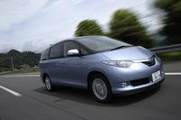 トヨタ・エスティマハイブリッドG 7人乗り(4WD/CVT)【ブリーフテスト】の画像