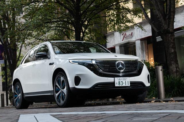 電気 自動車 ベンツ メルセデスベンツEQCはメーカー初の電気自動車で航続距離450kmのSUV