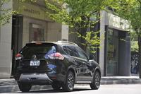 今回のテスト車は、専用の外装パーツを装備した「エクストリーマーX」。「ライダー」シリーズと同じく、オーテックジャパンのカスタマイズカーである。