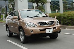 トヨタ・ハリアーハイブリッド プレミアム Sパッケージ(CVT)【ブリーフテスト】