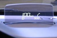 軽自動車初となるヘッドアップティスプレイが設定される。
