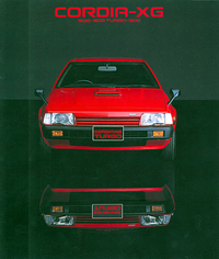 三菱「コルディア」は、販売系列によって顔つきの異なる、XGとXPの2シリーズがあった。写真ギャラン店扱いのXG
