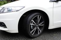 「α・Master label」には17インチのホイールと205/45R17タイヤが装着される。