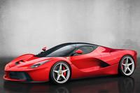 ジュネーブショーで発表された特別限定モデル「ラ フェラーリ」。