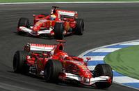【F1 2006】第12戦ドイツGP、フェラーリ独走で1-2フィニッシュ、ルノー夏のピンチ!の画像