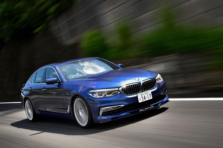 BMWアルピナD5 Sビターボ リムジン アルラッド(4WD/8AT)【試乗記】