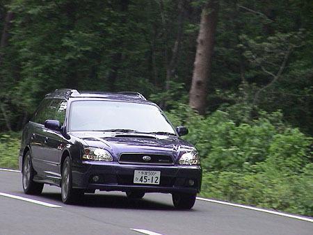 スバル・レガシィツーリングワゴンGT-B Eチューン(5MT)【ブリーフテスト】