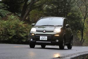 フィアット・パンダ4×4(4WD/6MT)【試乗記】