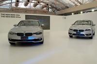 この日は、セダンの「330e」(写真左)と5ドアハッチバック「225xeアクティブツアラー」(同右)、2台のプラグインハイブリッド車が同時に発表された。