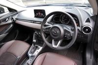 特別仕様車「XDノーブル・ブラウン」のインストゥルメントパネルまわり。