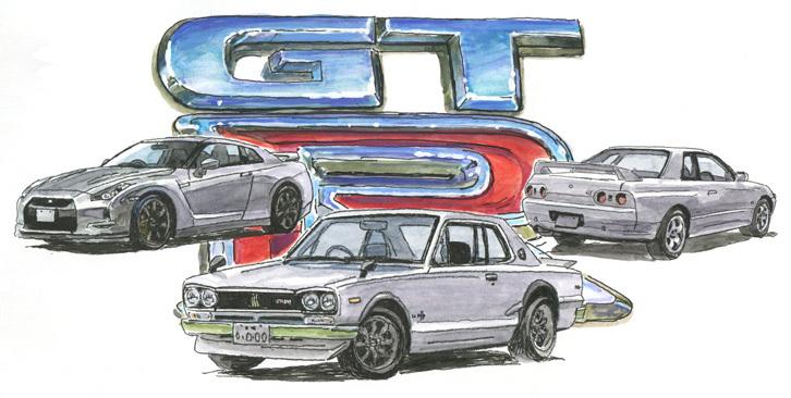 第2回:独創のGT-R<1969年><br />技術とプライドの6気筒エンジン