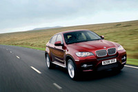 BMW X6、新エンジンで燃費改善の画像