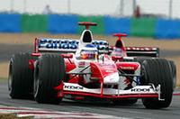 F1フランスGP、ラルフ・シューマッハー2連勝!【F1 03】の画像